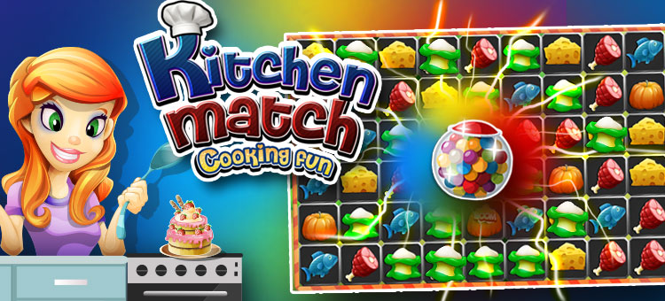 Kitchen Match cooking fun 200 Levels